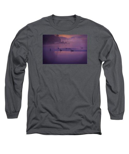 Dancing Geese Long Sleeve T-Shirt