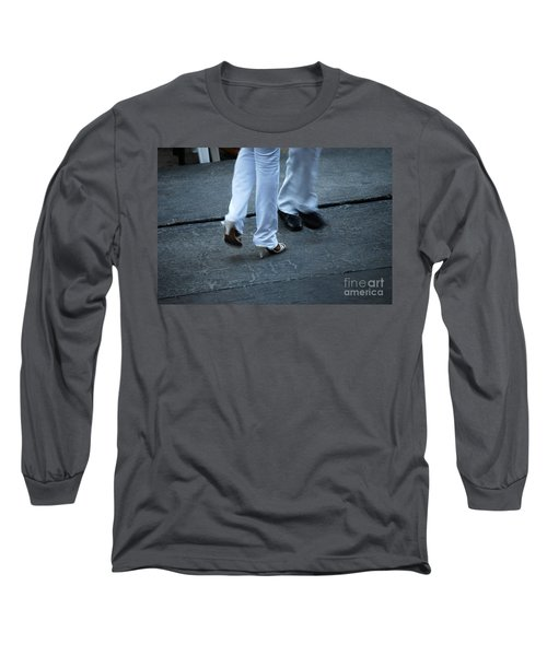 Dancing Feet At The Dominican Republic Son Party Number One Long Sleeve T-Shirt