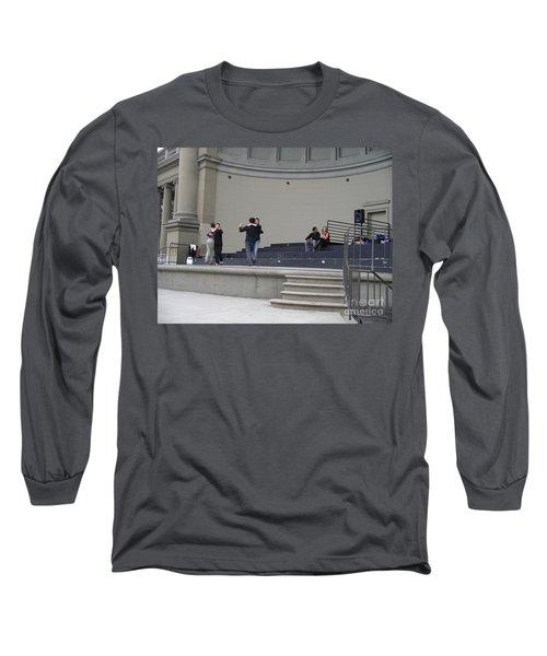 Dancing In Golden Gate Park Long Sleeve T-Shirt