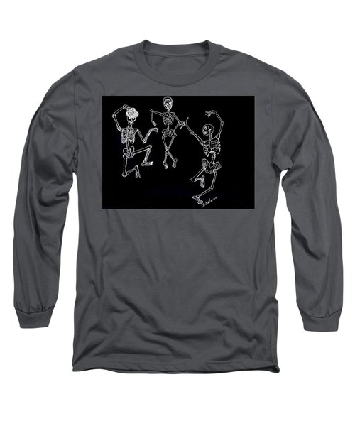 Dancing In The Dark Long Sleeve T-Shirt