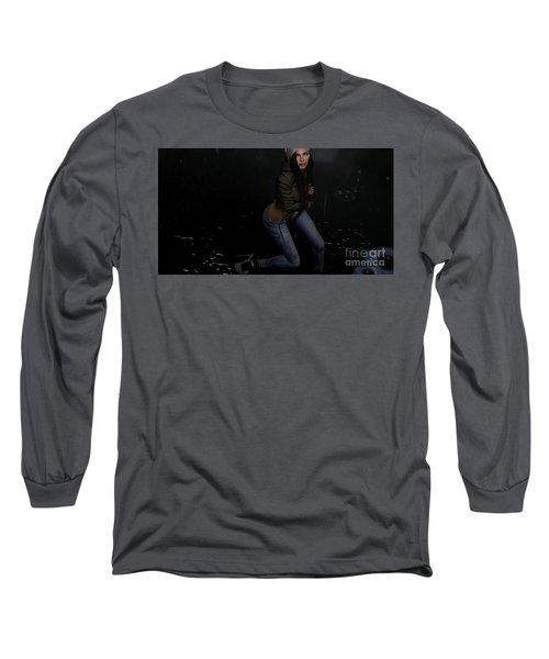Dancing In The Rain 5 Long Sleeve T-Shirt