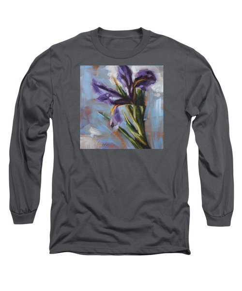Dancing Iris Long Sleeve T-Shirt