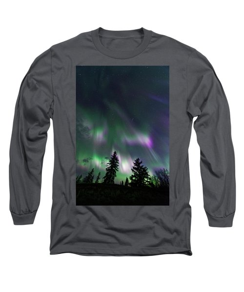 Long Sleeve T-Shirt featuring the photograph Dancing Lights by Dan Jurak