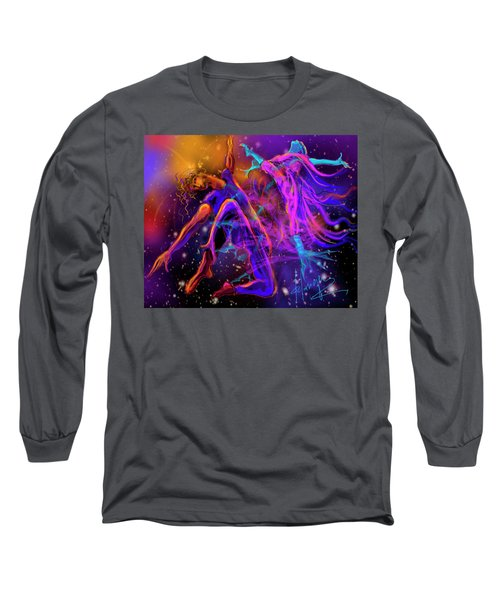 Dancing With The Universe Long Sleeve T-Shirt