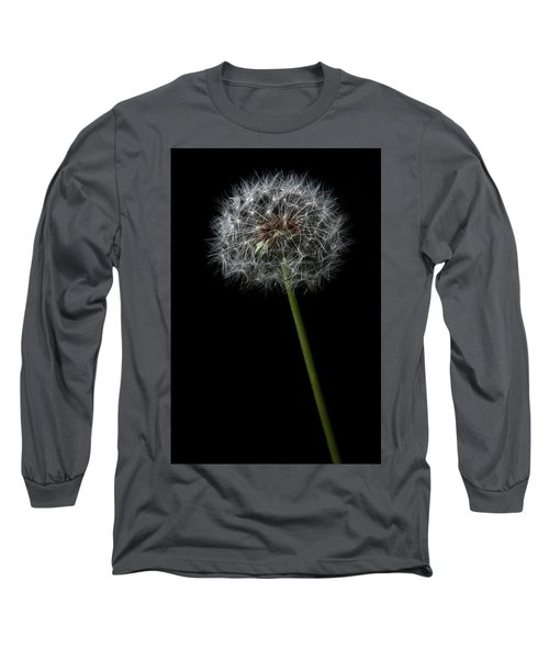 Long Sleeve T-Shirt featuring the photograph Dandelion 1 by James Sage