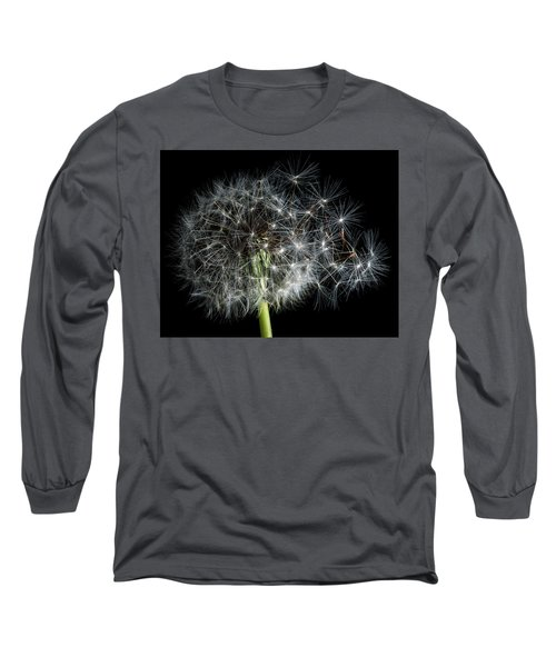 Long Sleeve T-Shirt featuring the photograph Dandelion 2 by James Sage