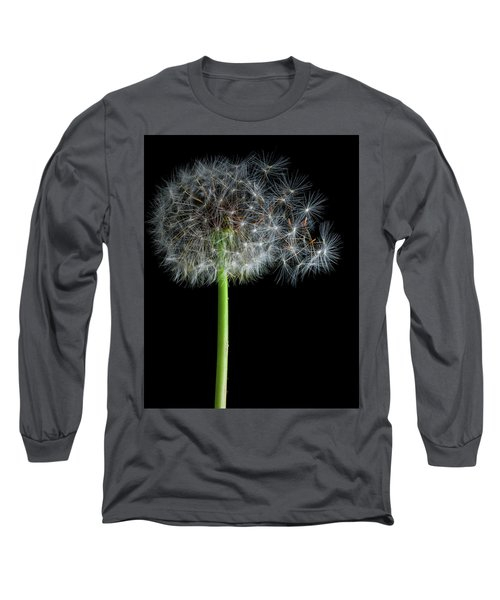Long Sleeve T-Shirt featuring the photograph Dandelion 3 by James Sage