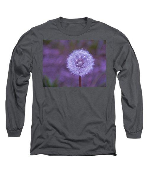 Dandelion Geometry Long Sleeve T-Shirt
