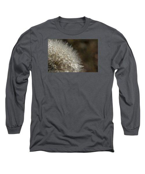 Dandelion Rain Long Sleeve T-Shirt by Shelly Gunderson