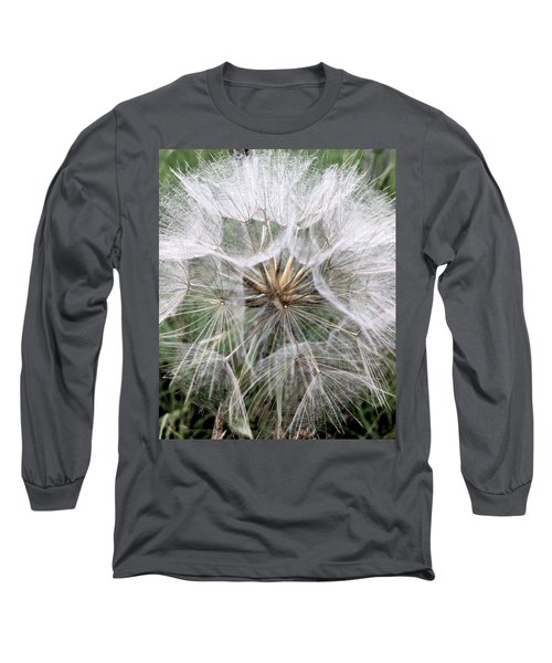 Dandelion Seed Head  Long Sleeve T-Shirt
