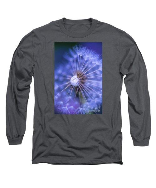 Dandelion Wish Long Sleeve T-Shirt by Alana Ranney