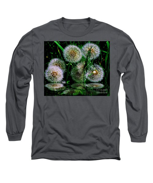 Long Sleeve T-Shirt featuring the photograph Dandies  by Elfriede Fulda