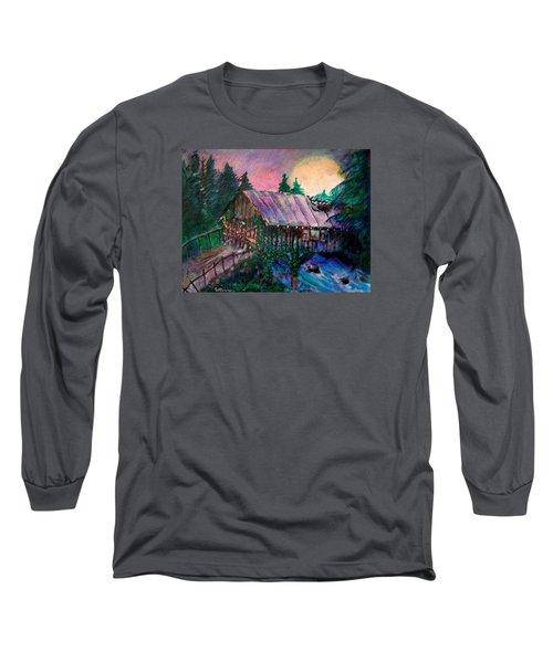 Dangerous Bridge Long Sleeve T-Shirt