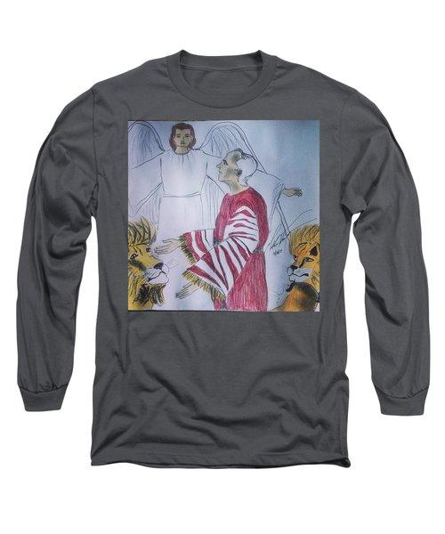 Daniel And Lion's Den Long Sleeve T-Shirt