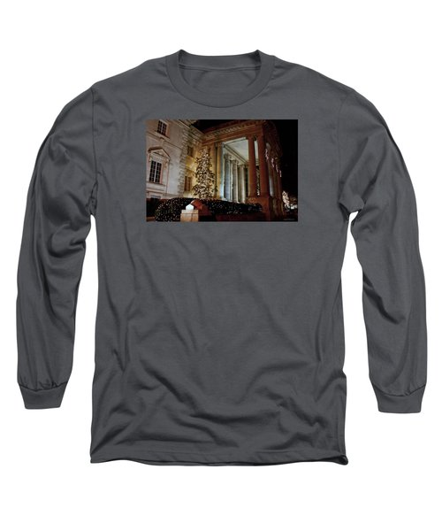Dar Memorial Continental Hall Long Sleeve T-Shirt by Suzanne Stout