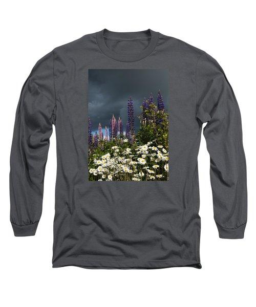 Dark Clouds Long Sleeve T-Shirt