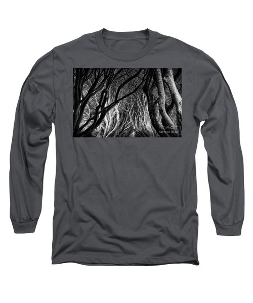 Dark Hedges Kings Road Long Sleeve T-Shirt