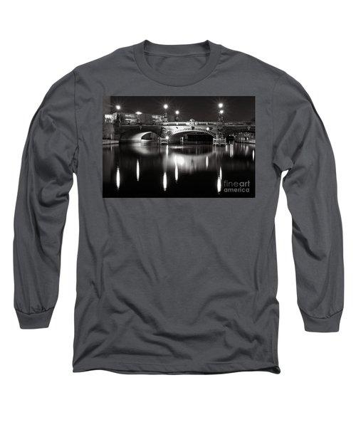 Dark Nocturnal Sound Of Silence Long Sleeve T-Shirt
