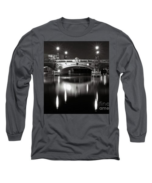 Dark Nocturnal Sound Of Silence Long Sleeve T-Shirt