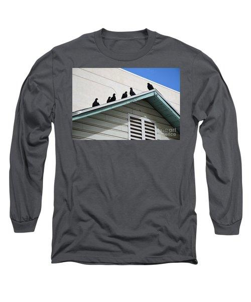 Dark Pigeons Long Sleeve T-Shirt