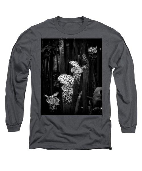 Long Sleeve T-Shirt featuring the photograph Dark Pitchers by Alan Raasch