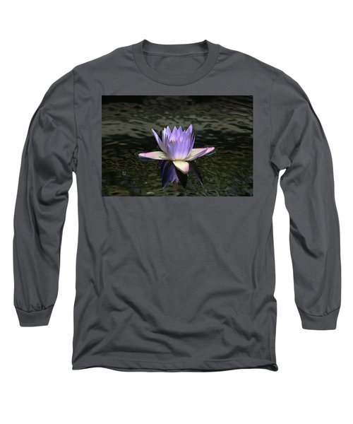 Dark Water Shimmering Long Sleeve T-Shirt