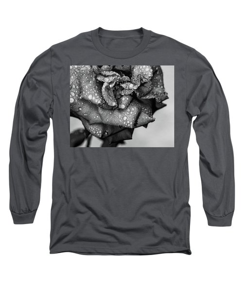 Dark Wet Rose Long Sleeve T-Shirt