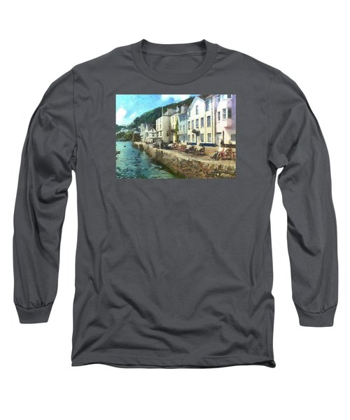 Bayards Cove Dartmouth Devon  Long Sleeve T-Shirt by Charmaine Zoe