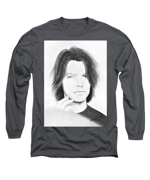 David Bowie - No Pressure Long Sleeve T-Shirt