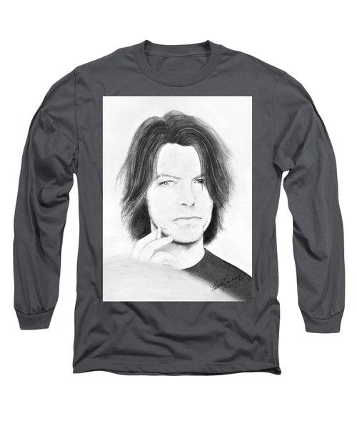 David Bowie - No Pressure Long Sleeve T-Shirt