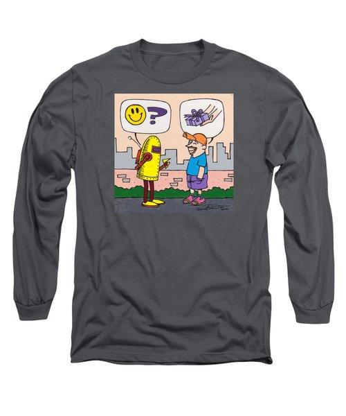 Dawkins The Robot 69 Long Sleeve T-Shirt