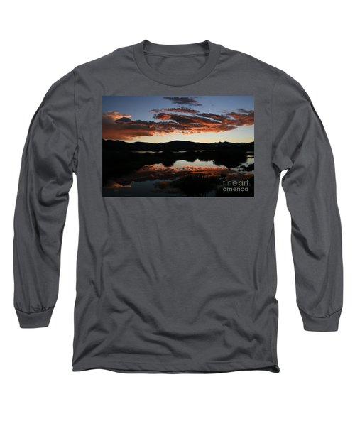 Dawn At Lake Dillon Long Sleeve T-Shirt