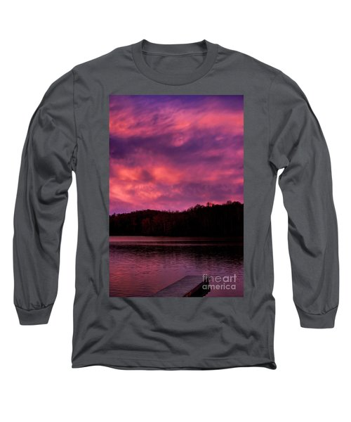 Long Sleeve T-Shirt featuring the photograph Dawn At The Dock by Thomas R Fletcher