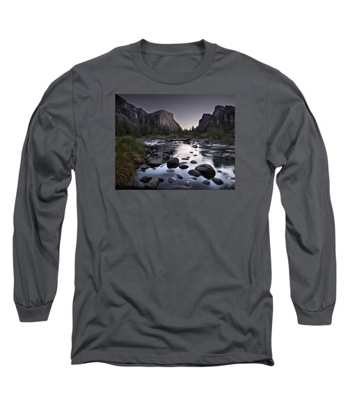 Dawn At Yosemite Gate Long Sleeve T-Shirt