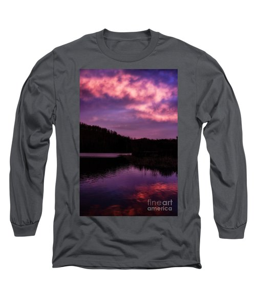 Long Sleeve T-Shirt featuring the photograph Dawn Big Ditch Wildlife Management Area by Thomas R Fletcher