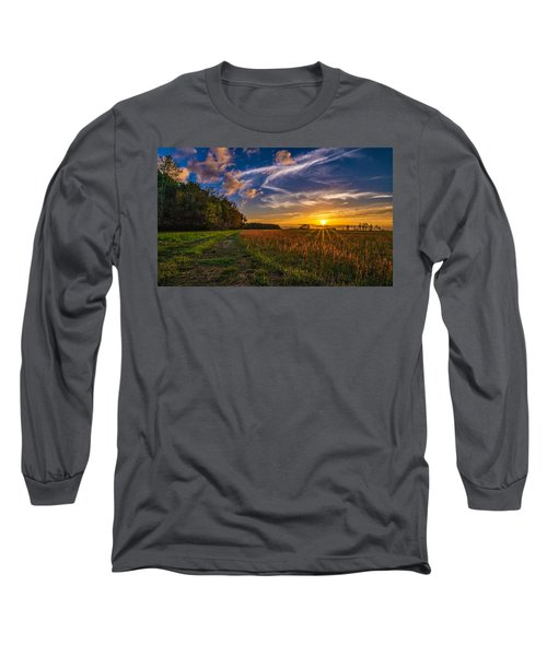 Dawn In The Lower 40 Long Sleeve T-Shirt