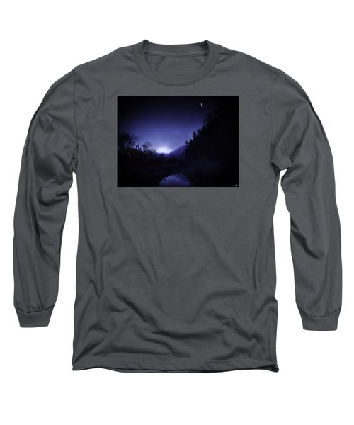 Dawn On The Lower Mountain Fork River Long Sleeve T-Shirt