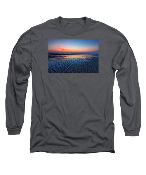 Dawn Ripples Long Sleeve T-Shirt by Alan Raasch