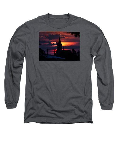 Long Sleeve T-Shirt featuring the photograph Dawning Faith by Shirley Heier