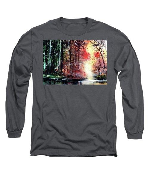 Daybreak 2 Long Sleeve T-Shirt by Anil Nene