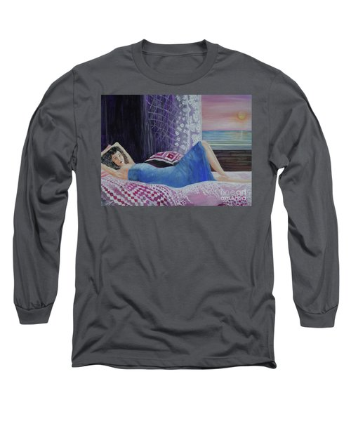 Daydreaming Long Sleeve T-Shirt by Lyric Lucas