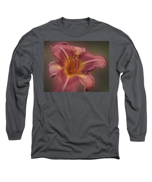 Daylily Blur Long Sleeve T-Shirt