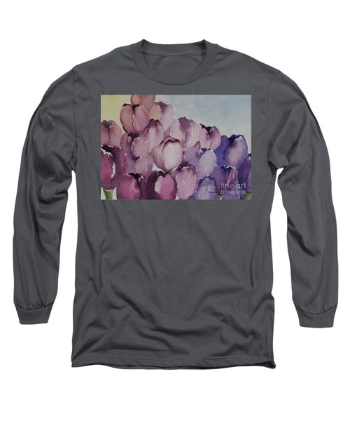 Days Of Wine And Tulips Long Sleeve T-Shirt
