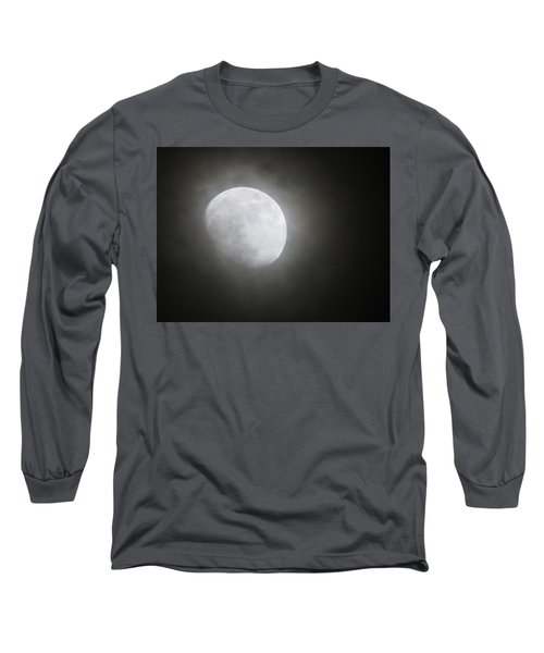 Daytona Moon Long Sleeve T-Shirt by Kathy Long