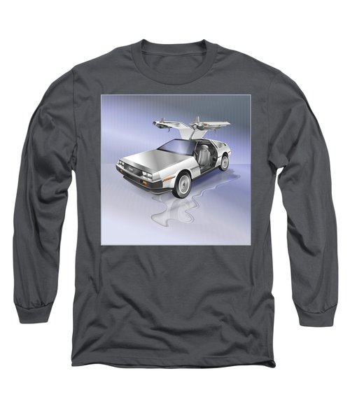 De Lorean Long Sleeve T-Shirt