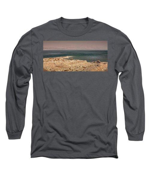 Dead Sea Coastline 1 Long Sleeve T-Shirt