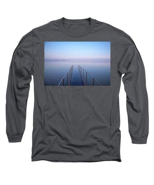 The Dead Sea Long Sleeve T-Shirt by Yoel Koskas