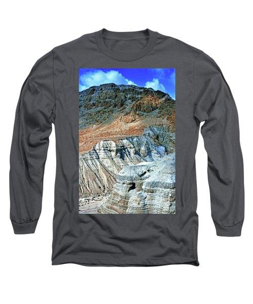 Dead Sea Scroll Caves Long Sleeve T-Shirt