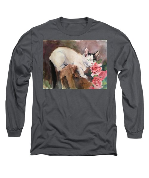 Deano In The Roses Long Sleeve T-Shirt
