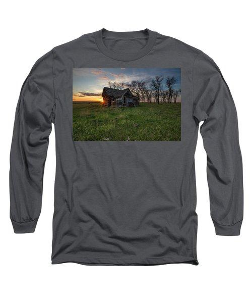 Dearly Departed Long Sleeve T-Shirt by Aaron J Groen
